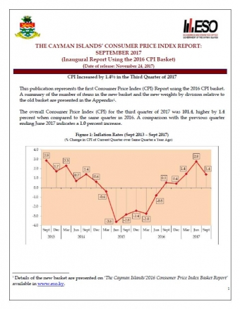 Cayman Islands - The Economics & Statistics Office - Grand Cayman